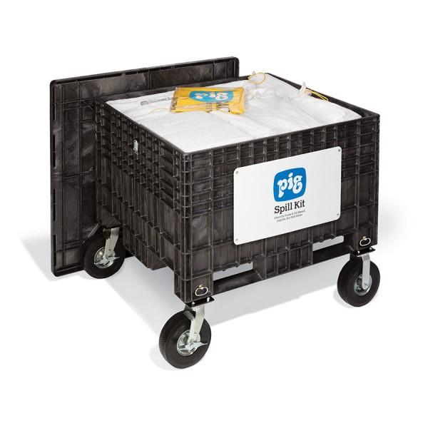 Extragroße Notfall-Transportkarre mit No-Flat-Reifen, Oil-Only, KIT404-02