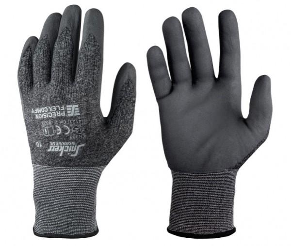Snickers Workwear 9323 Precision FLEX Comfy Handschuhe, anthrazit-schwarz/steingrau