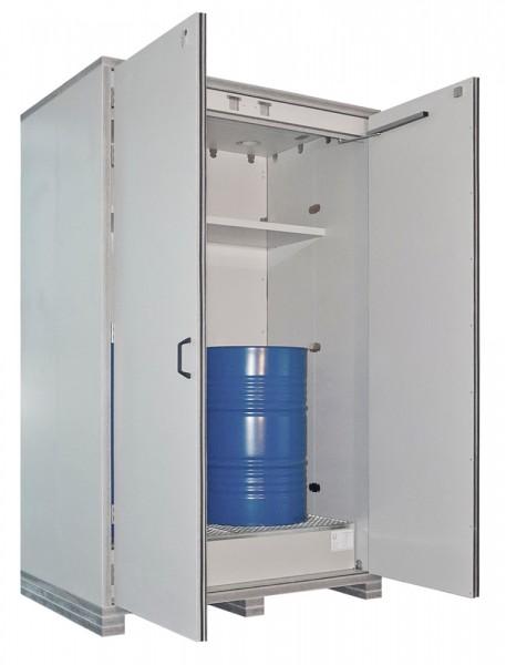 Priorit PRIOBOX FBX90, feuerbeständiger Fass-Schrank, F90, für 2x 200 Liter Fässer