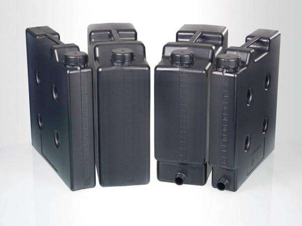 Raumsparkanister elektrisch leitfähig, HDPE, schwarz