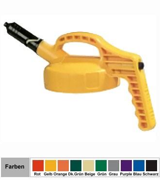 Oil Safe (Mini-) Kurzausgussdeckel mit dünner Auslauftülle für Oil Safe Behälter
