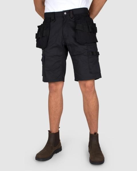 Dunderdon Berufsbekleidung Technical Line Zimmermanns Shorts P55S schwarz