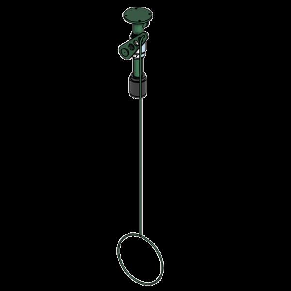 B-Safety ClassicLine Körper-Notdusche BR 085 085 mit Betätigung, für Deckenmontage Aufputz