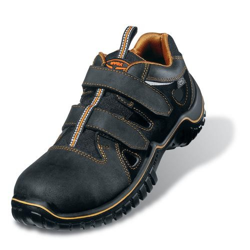 Sicherheitsschuhe uvex motion light Sandale S1 SRC, Modell 6980, schwarz