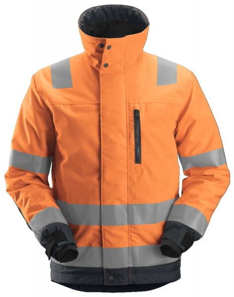 Snickers Workwear 1130 AllroundWork High-Vis 37.5 isolierende Arbeitsjacke, EN 20471 Klasse 3