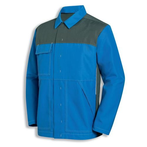 uvex Schutzbekleidung protection perfect acid Jacke kornblau/grau Modell 8880