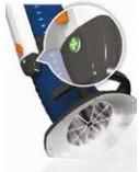 Fumex Drucktaster PR-T 4 Weiss, für Absaugarme PR 1500, 2000, 3000 und 4000