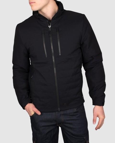 Dunderdon Berufsbekleidung Technical Line Cordura Jacke J62 schwarz mit Reißverschluss