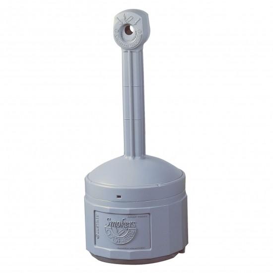 Justrite Original Smoker Cease Fire® Sicherheits-Standascher, PE, 15 Liter