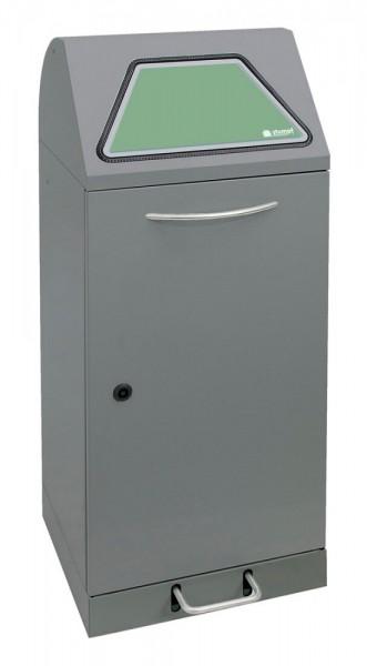 Stumpf Metall Abfalltrennung Modul-Vario 75, ProSlide-System, 75 Liter, Trethebel