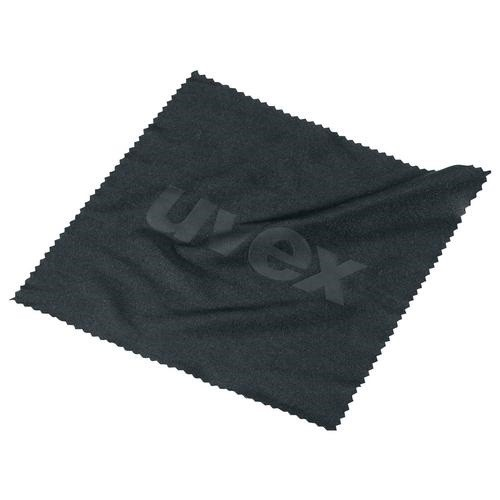 uvex Mikrofasertuch 9972130, schwarz