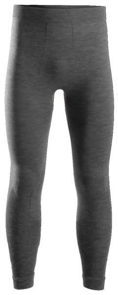 Snickers Workwear 9442 FlexiWork Nahtlose Wolle-Leggings, anthrazit melange
