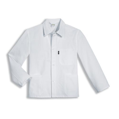 uvex Berufsbekleidung whitewear Herren Lange Jacke weiß Modell 125