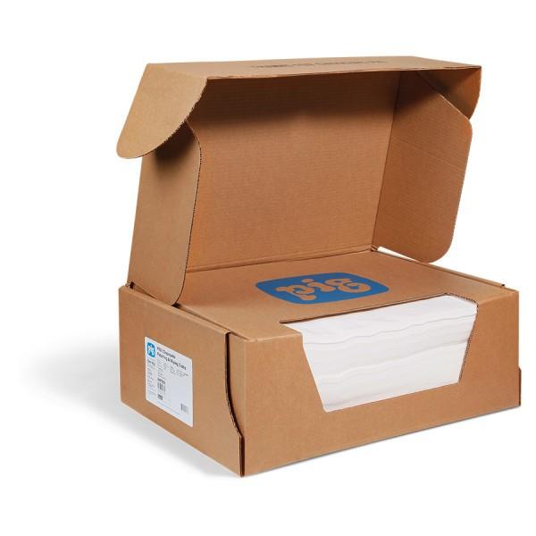 #100 Einweg Polier und Wischtücher weiß, 36 x 46 cm, 300 Wischtücher im Karton