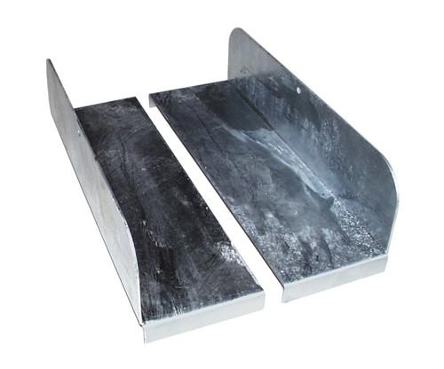 Bauer Auflageblech AB aus Stahl, verzinkt für Kleingebinde
