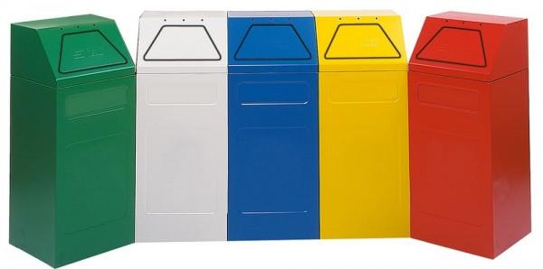 Stumpf Metall Abfalltrennung 65, verz. Innenbehälter, 65 Liter, verschiedene Farben