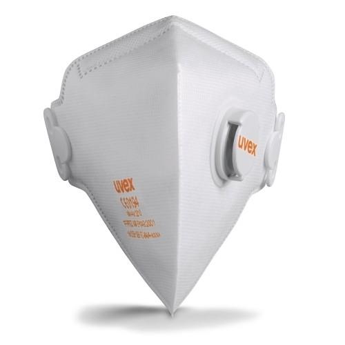 uvex Atemschutzmaske silv-Air c 3210 FFP2 NR D, Faltmaske mit Ventil