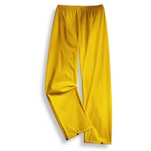 uvex Schutzbekleidung protection Regen-Bundhose gelb Modell 664