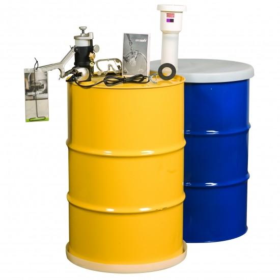 Justrite Aerosolv® Dual-Konformes System 28231, Recycling von Aerosoldosen