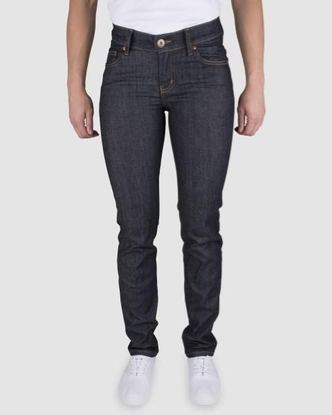 Dunderdon Berufsbekleidung Womens Line 5-Pocket Damen-Jeans P52 dunkelblau
