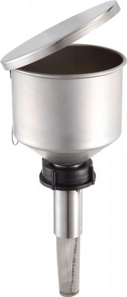 Rötzmeier Sicherheitstrichter Typ TK50 aus Edelstahl mit Kunststoffkappe, DIN 50