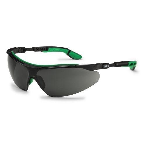 uvex Schweißerschutzbrille 9160043 i-vo, schwarz-grün, Schutzstufe 3, Beschlagfrei, Kratzfest