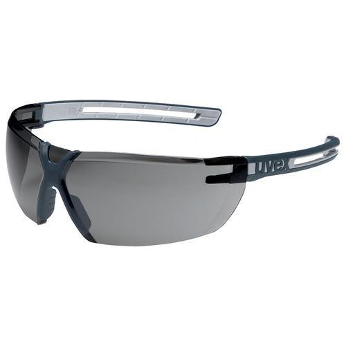 uvex Schutzbrille 9199277 x-fit pro, PC grau, kratzfest, beschlagfrei ohne Slider