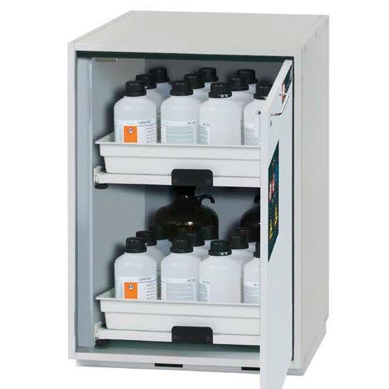 Säuren- und Laugenschrank Modell SL.80.059.UB.TR SL-CLASSIC-UB Unterbauschrank
