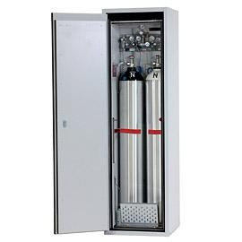 Gasflaschenschrank G-ULTIMATE-90 Modell G90.205.060.2F, 2 Gasflaschen à 50 Liter, EN 14470-2