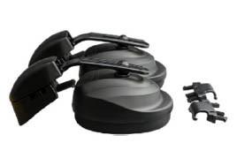 CleanAIR Gehörschutz mit Adaptern für Schutzhelm CA-4