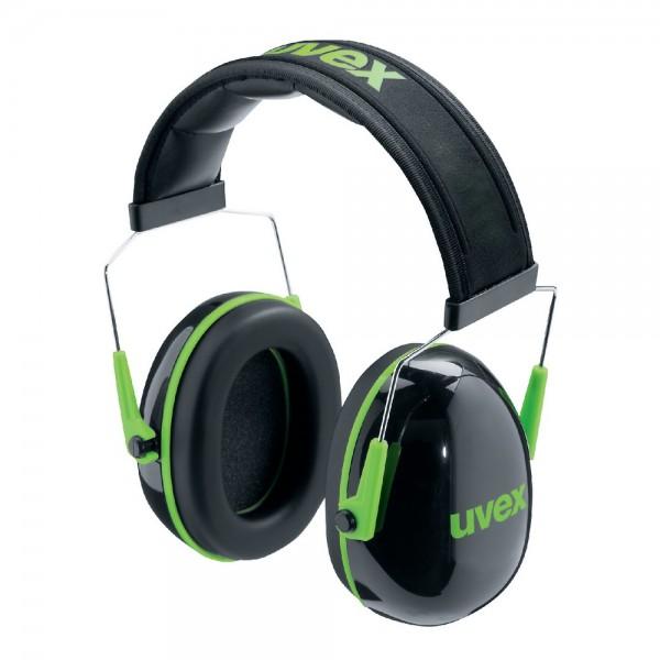 uvex Kapselgehörschutz K1 schwarz/grün, 28 dB