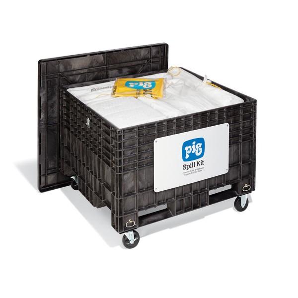 Extragroße Notfall-Transportkarre mit Gummireifen, Oil-Only, KIT404-01
