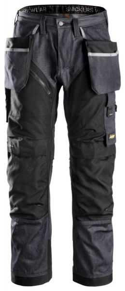 Snickers Workwear 6205 RuffWork Denim, Arbeitshose mit Holstertaschen