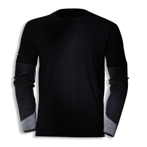 uvex Schutzbekleidung cut quatroflex T-Shirt 7931 dunkelgrau mit Schnittschutzärmeln