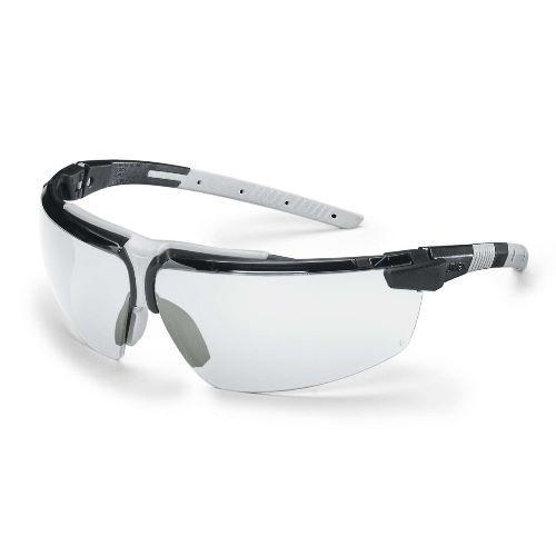 uvex Schutzbrille i-3 s, 9190080, schmal, schwarz/grau, PC farblos, Oil & Gas