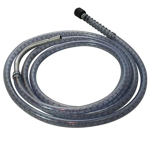 Oil Safe Standard-Schlauch 3m PVC mit gekröpftem Auslass