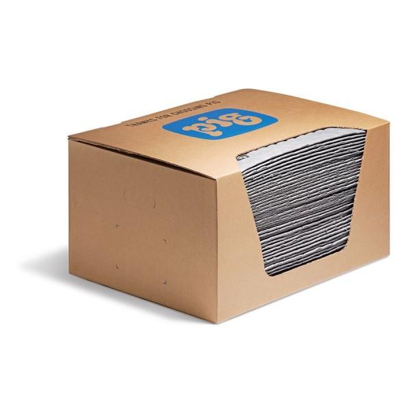 FAT MAT Supersaugfähige Universal Saugmatten, 41 x 51 cm, 50 Matten im Karton