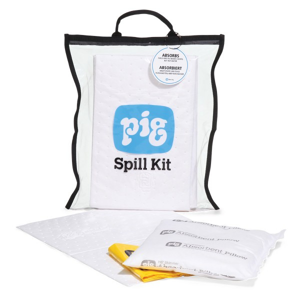 Kompaktes Klarsicht-Notfallkit Oil-Only KITL450