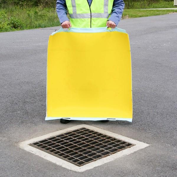 Essentials Abflussabdeckung mit Handgriffen, 60 x 60 cm, PLRE611