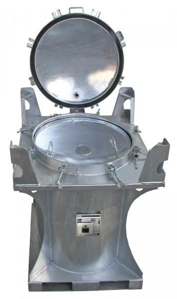 Bauer Schadstoff-Container Typ SCD 285, feuerverzinkt, Internationale Beförderung flüssiger Güter