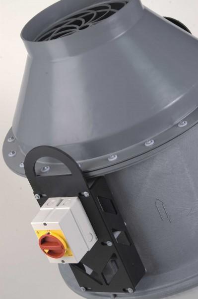 Dachventilator FDv 125/140/4/PTC, 50 - 420 m³/h, 4-polig, Trichterausführung