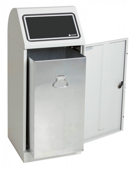 Stumpf Metall Abfalltrennung Flex-M, verzinkter Innenbehälter, 70 Liter