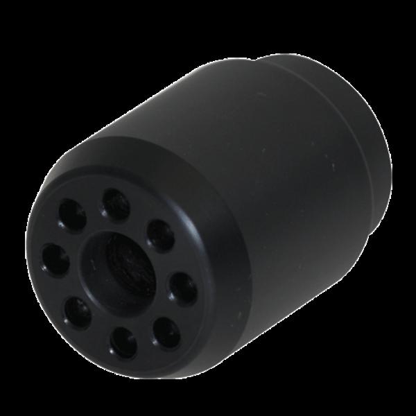 B-Safety ClassicLine Hochleistungsduschkopf BR 010 365, schwarz, für Körper-Notduschen