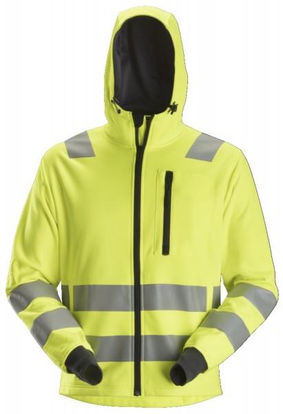 Snickers Workwear 8039 AllroundWork High-Vis Fleece-Hoodie, EN 20471 Klasse 2/3