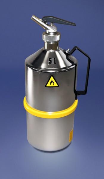 Original Salzkotten Sicherheits-Laborkanne Typ 102, 5 Liter mit Feindosierer