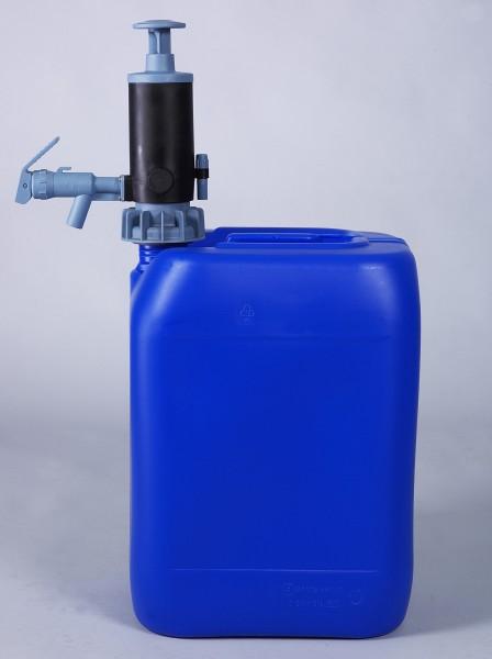 Kanister- und Fasspumpe PumpMaster für petrochemische Flüssigkeiten