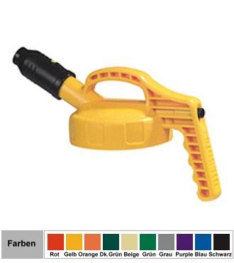 Oil Safe Kurzausgussdeckel dick HDPE für Oil Safe Behälter
