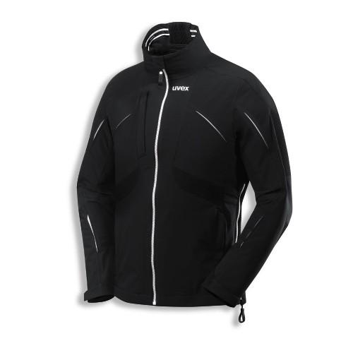 uvex Berufsbekleidung texpergo plus Funktionsjacke schwarz Modell 8872