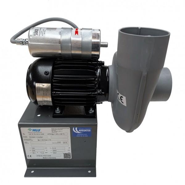 Ex-Radialventilator mit Direktantrieb, 1 x 230 V, 100m³/h, PPs