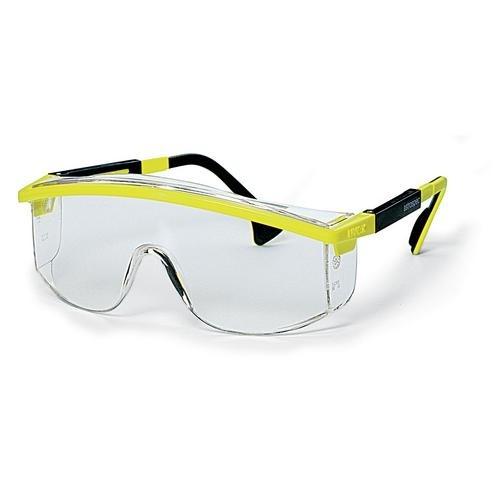 uvex Schutzbrille 9168035 astrospec gelb/schwarz, PC farblos